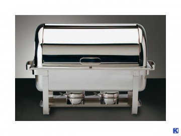 Chafing dish m/element + brennere